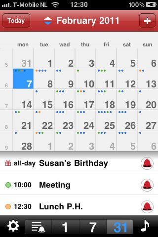 20 Best Calendar Apps For Your Iphone App Calendar Iphone