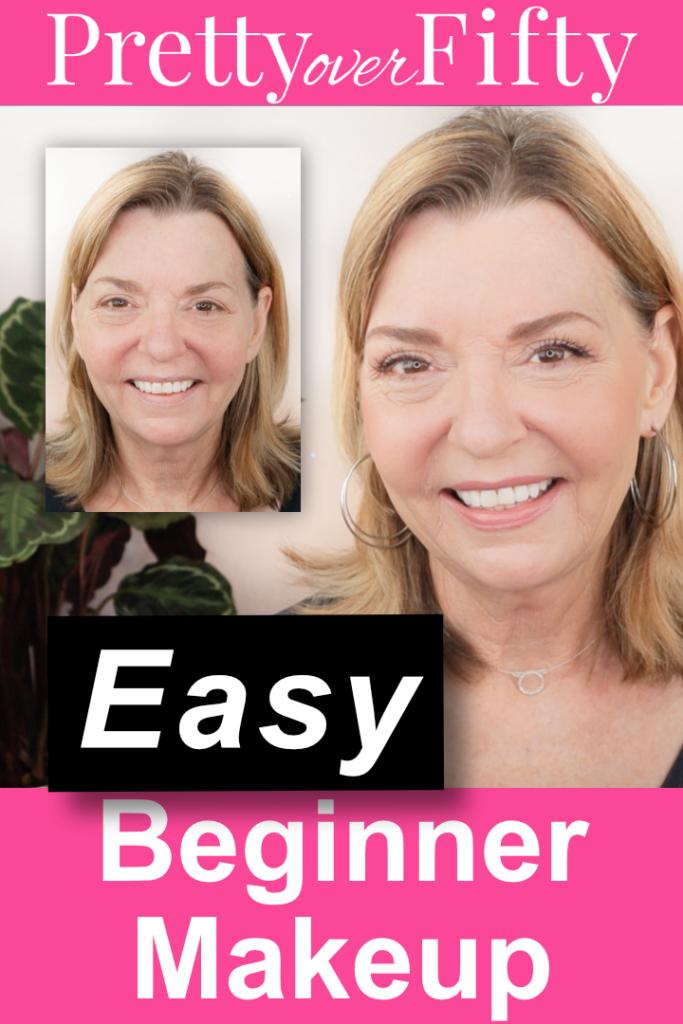 Easy Beginner Makeup Tutorial Over 50 (all drugstore!)