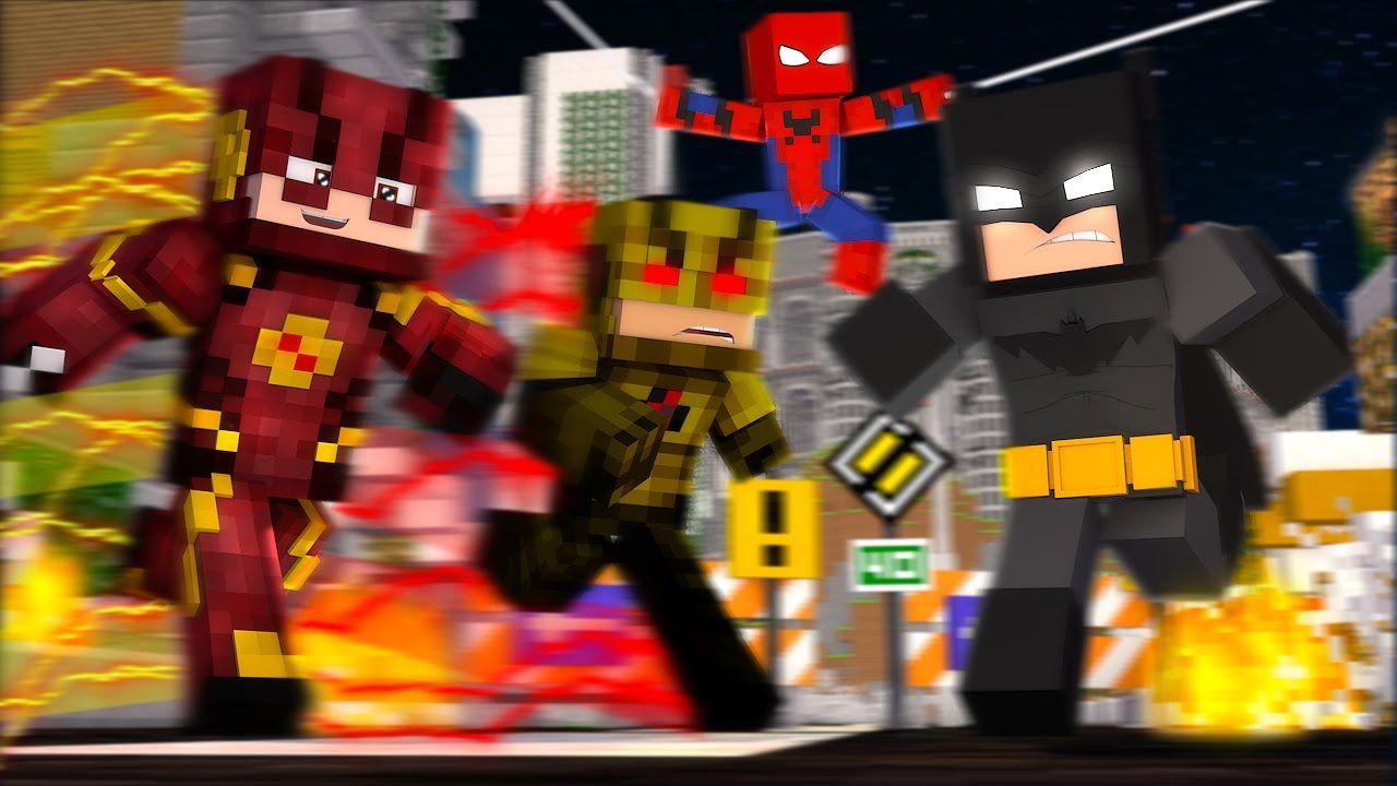 мод на костюмы супергероев в майнкрафт 1.7.10 #1