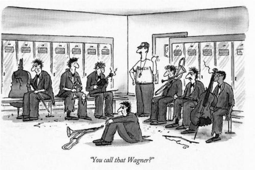 """You call that Wagner?"""
