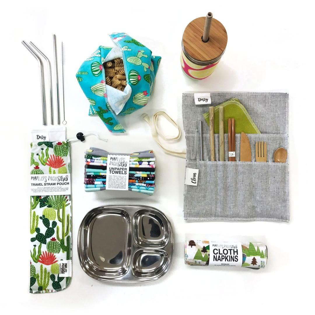 #zerowaste And #ecofriendly Kitchen Items, Zero Waste Living, #reusuable Kitchen  Supplies