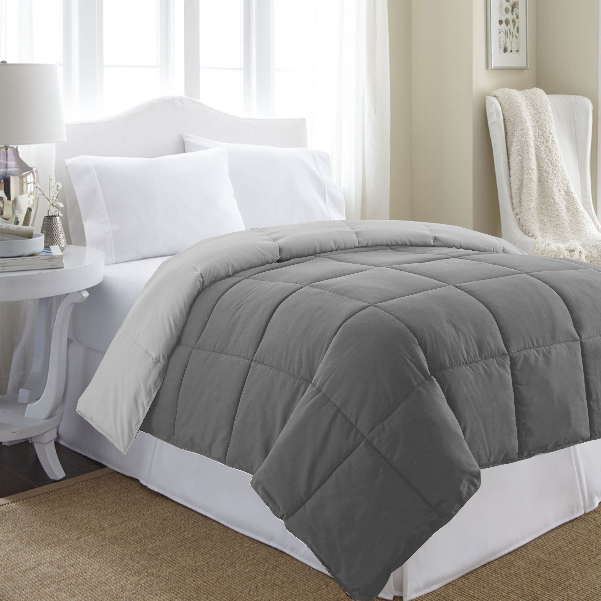 Amazon Puredown All Season White Down Alternative Comforter Trend