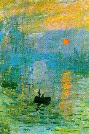 Impression Sunrise Claude Monet Since The Impressionism Through