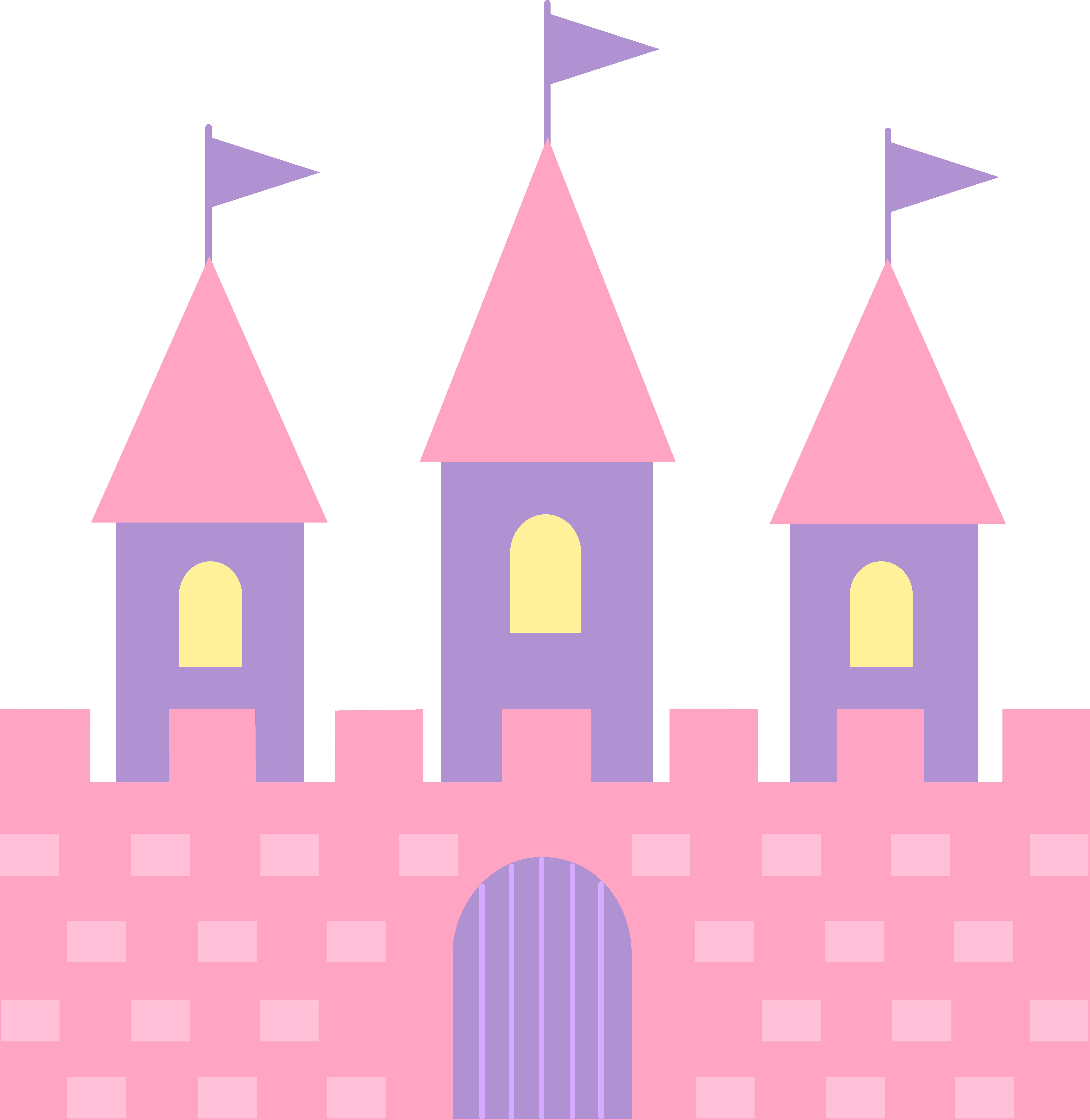 Pink Princess Castle Princess tea party, Pink princess