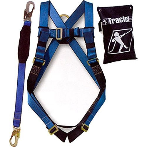 Spidergard Safety Fall Protection Kit, Full Body Harness