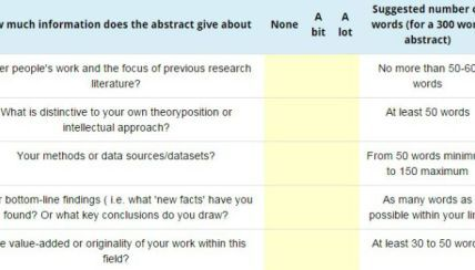 how long is a dissertation problem statement