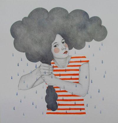 Luella Art Print by Sofia Bonati
