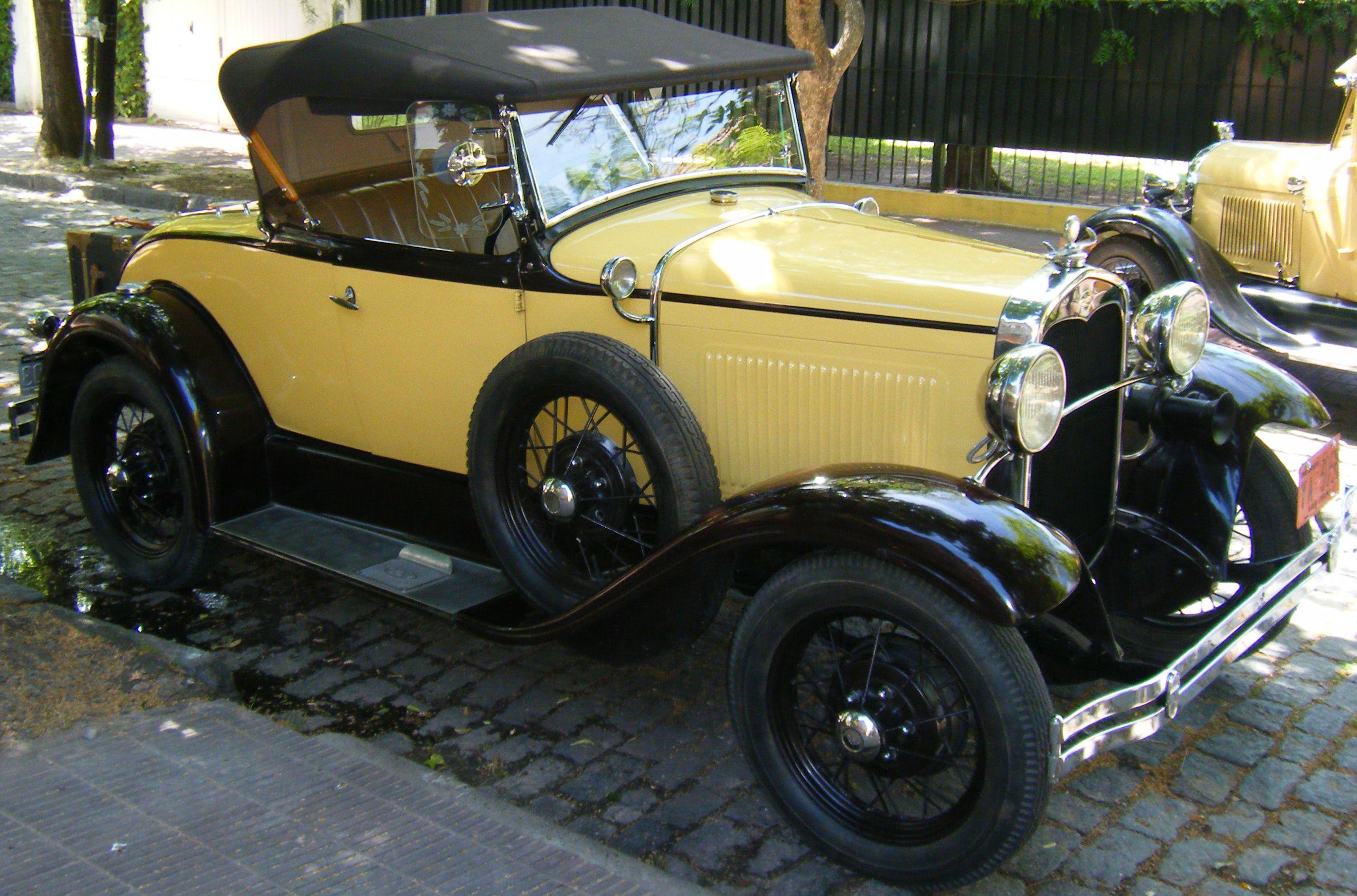 Excelentes Imágenes Y Fotos De Autos Para Fondos De: Excelente Ford Voiture 1931 Restaurada A Fondo (motor