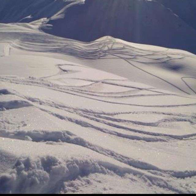 AK with snowmobile tracks | Snowmobile Destinations | Snow machine