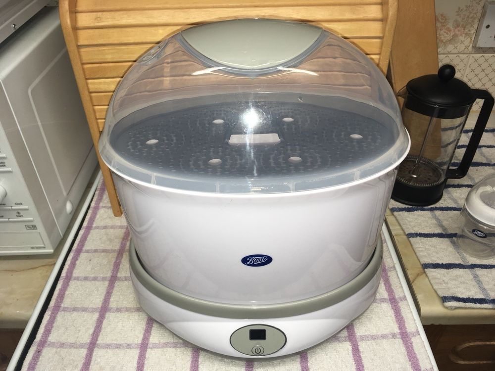 Boots Baby Bottle Electric Steam steriliser Excellent