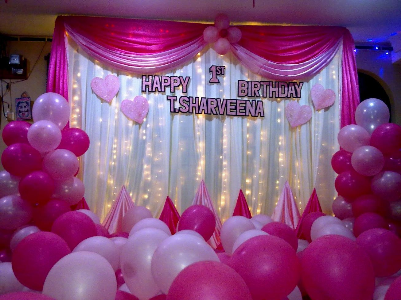 Decoration ideas for birthday party at home kids birthday.