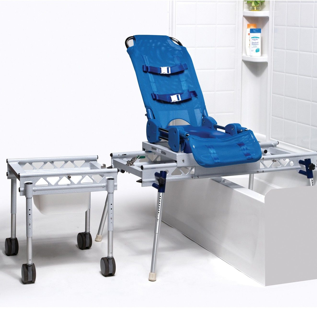 Omni Commode/Shower/ Bath Transfer System is a multi-functional ...