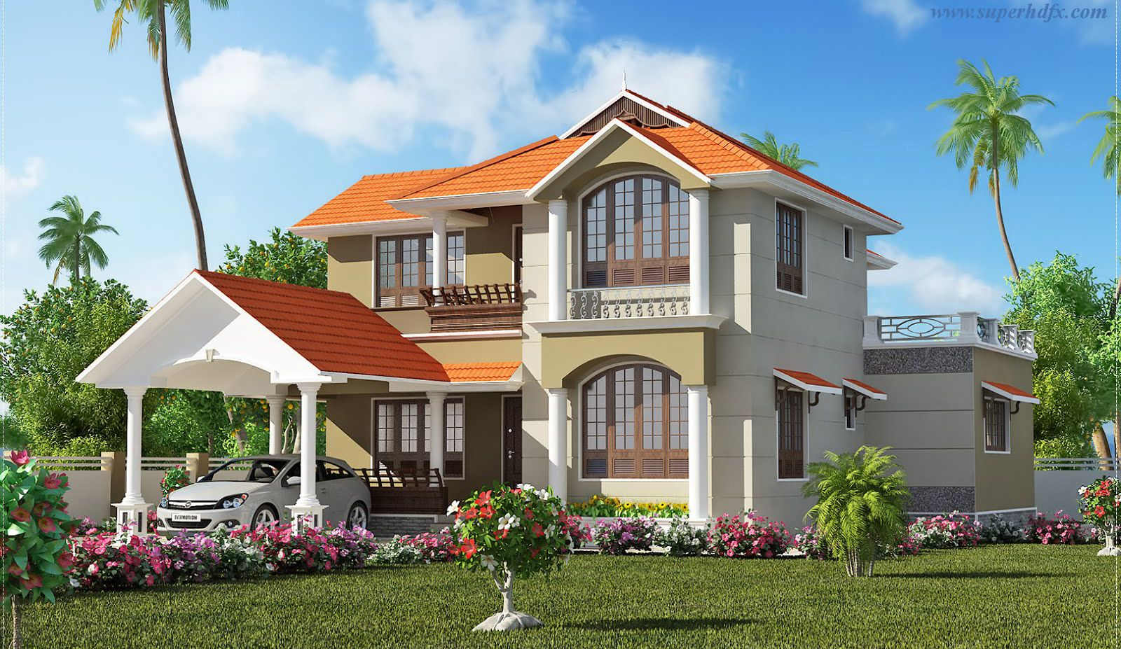 House Beautiful Wallpaper collections of beutiful house, - free home designs photos ideas