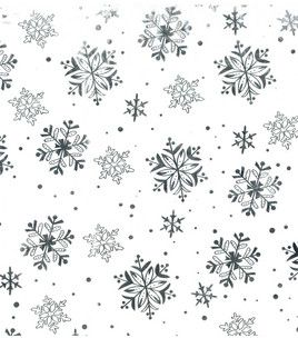 Sew Sweet Collection- Foil Snowflakes Sheer Fabric: special occasion fabric: apparel fabric: fabric: Shop | Joann.com