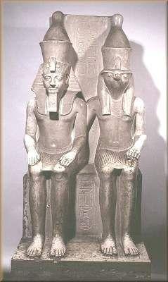Horemheb et Horus