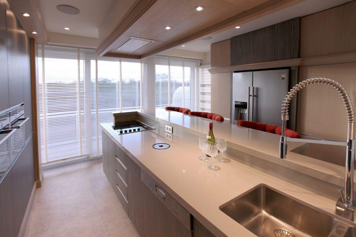 Marcotte style interieur ontwerper penthouse strak landelijke