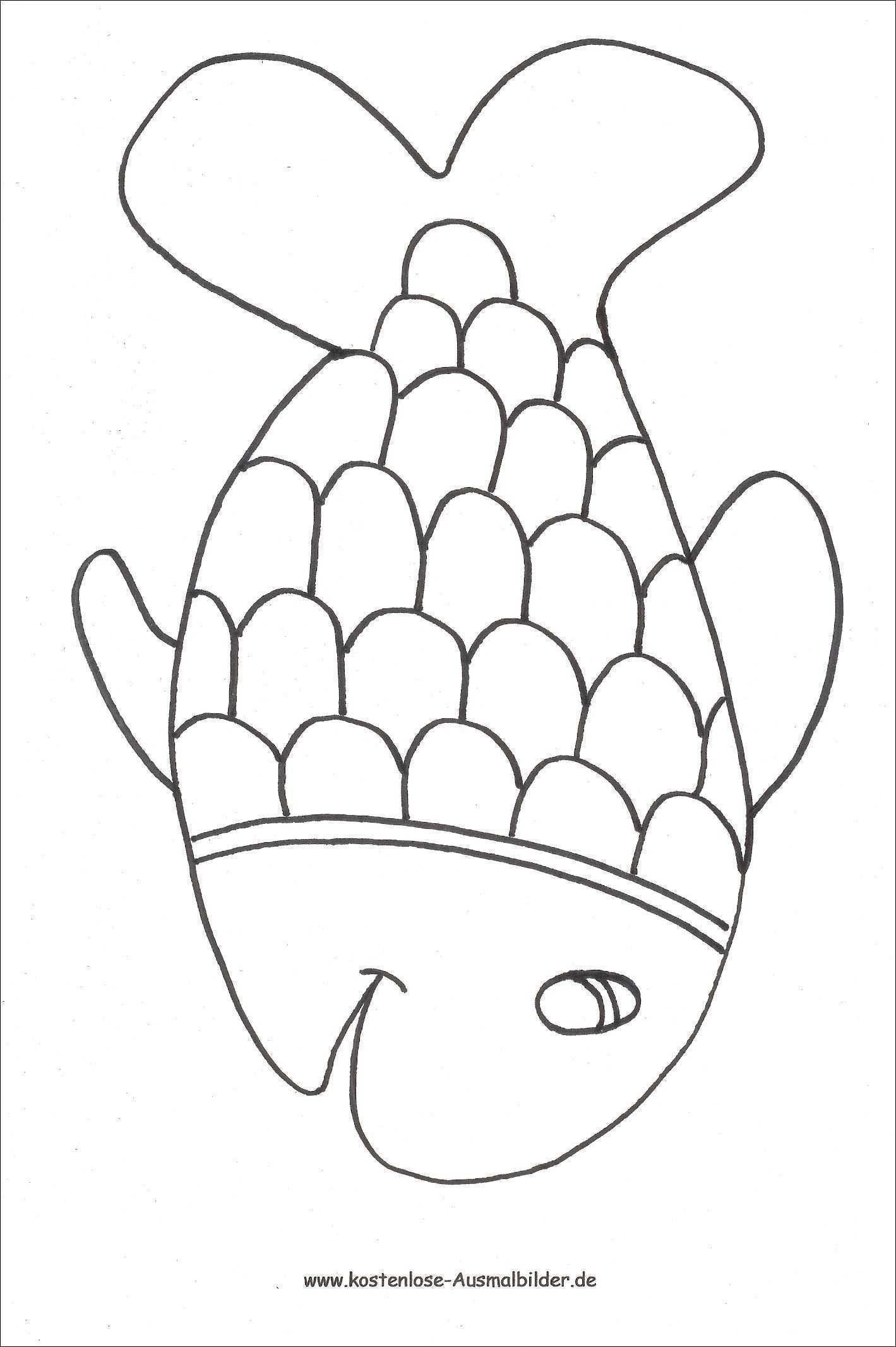 Neu Malvorlagen Kinder Einfach Ausmalbilder Fische Kostenlose Ausmalbilder Fisch Vorlage
