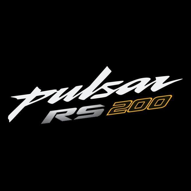 Logo Pulsar Rs 200 Bajaj Triple Spark Bike Product Launch Bike