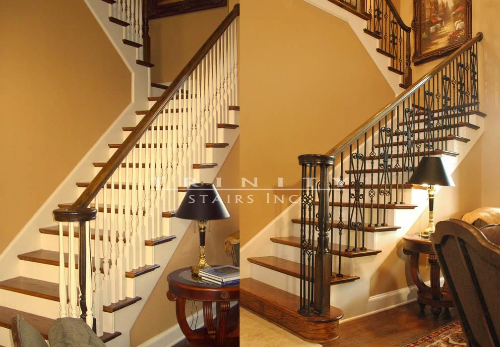 Delightful Hardwood Stair Treads From Trinity Stairs, San Antonio, Austin, Dallas,  Fort Worth, Frisco | Stair Remodeling | Staircase Remodeling | Iron  Balusters | Wood ...