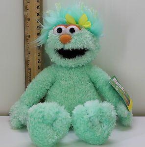 Sesame Street Place Rosita Plush Stuffed Animal Lovey Doll ...