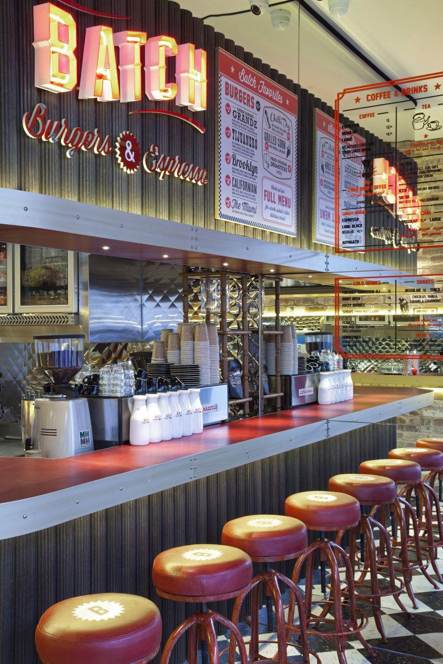 Batch burgers and espresso located in kirribilli