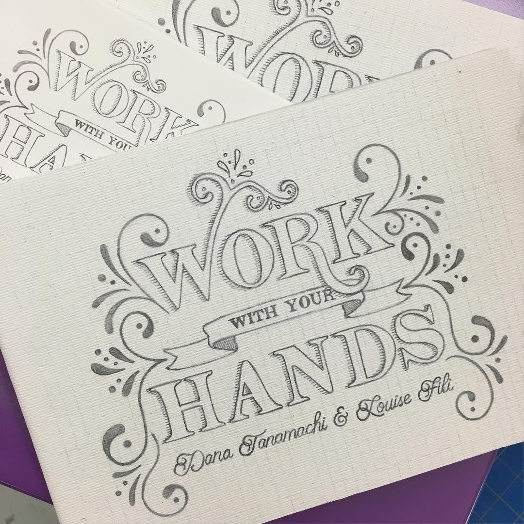 Book Cover Design Drawing : Hand lettered book cover design for a mock exhibition