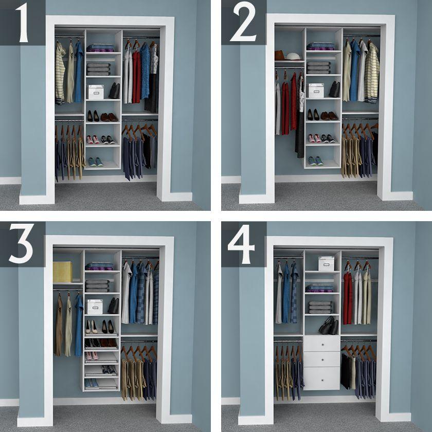Stunning Small Closet Organization Ideas - https://midcityeast.com ...