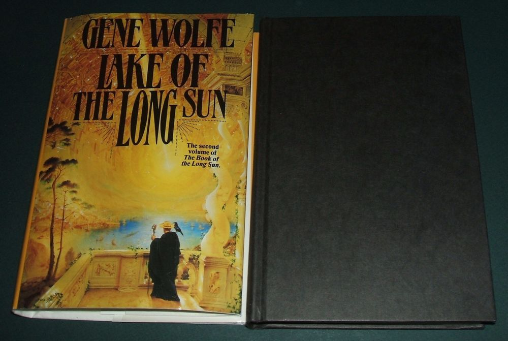 Lake of the Long Sun by Gene Wolfe First edition in Dust jacket Fine in Fine