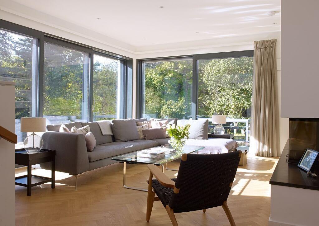 Kamin Für Terrasse wohnzimmer mit kamin und terrasse http hausbaudirekt de haus