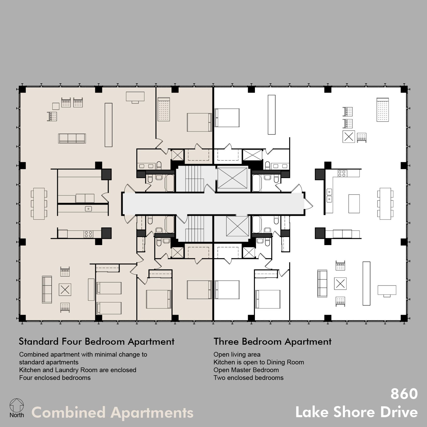 Apartment Building Architectural Plans 880 lake shore drive | architecture - plans: resi | pinterest