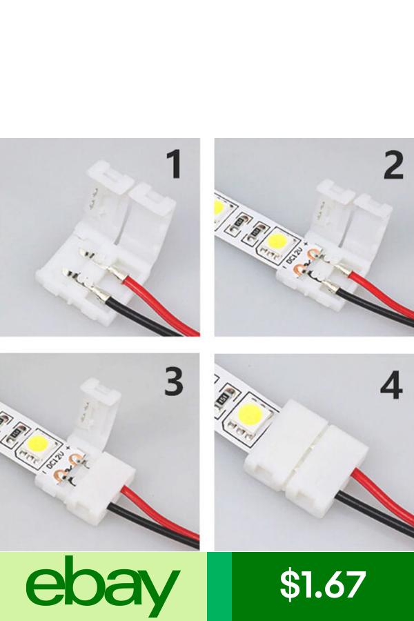 Led Light Strip Connectors Home Garden Lampade