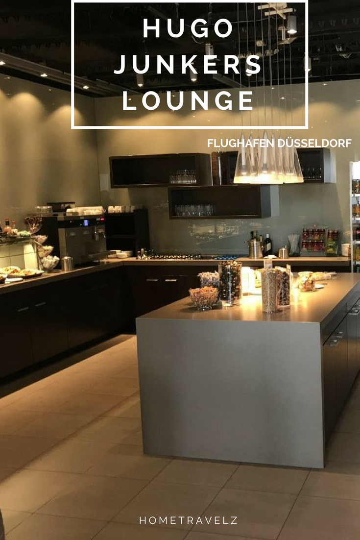 Hugo Junkers Lounge Düsseldorf Airport hometravelz