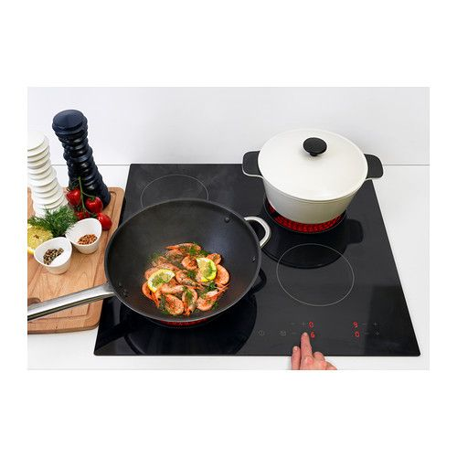 Barmh rtig table de cuisson vitroc ramique noir ceramic - Table de cuisson vitroceramique ...
