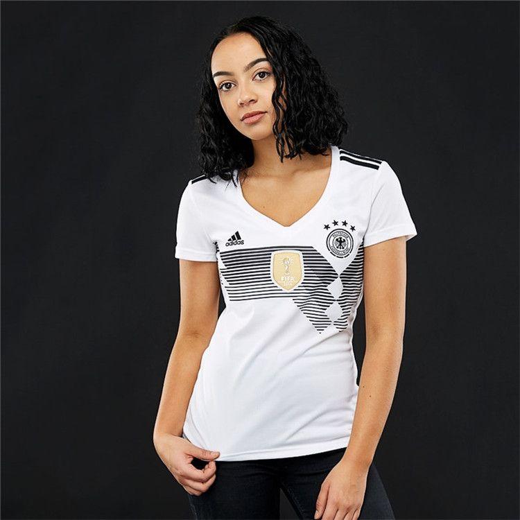 bb037cef439 2018 World Cup Germany Women Futbol Camisas Ozil Muller Kroos Soccer Jerseys