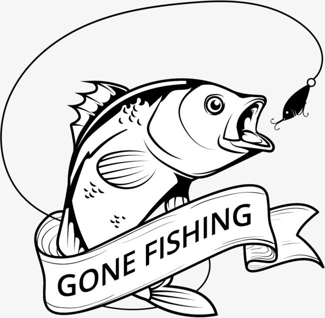 Silhouette Bass Fish Vector Illustration For Fishing Lover Bass Fish Lure Png And Vector With Transparent Background For Free Download Fish Vector Silhouette Illustration Vector Illustration