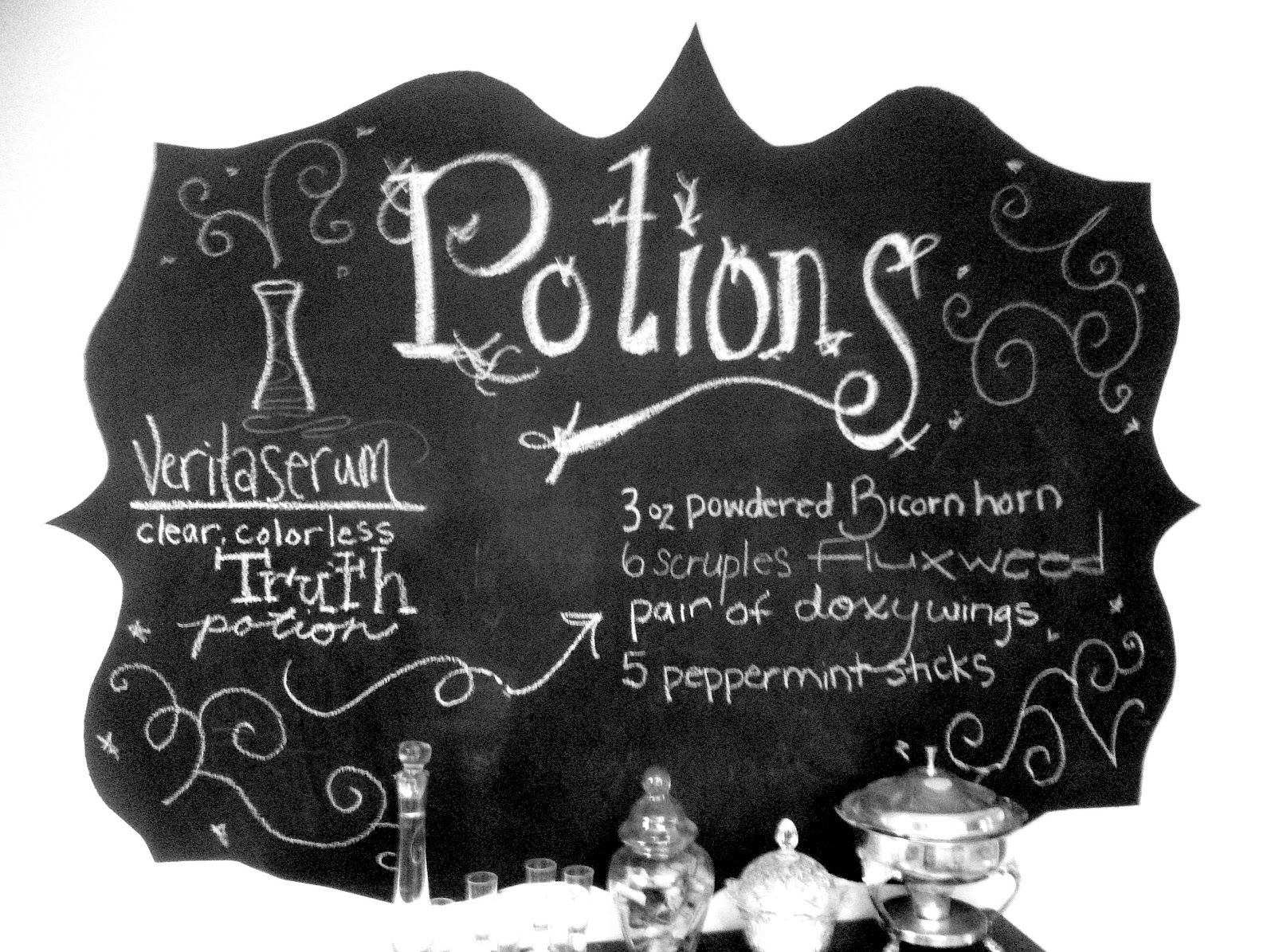 Hogwarts Decorating Potions Lab Amp Great Hall