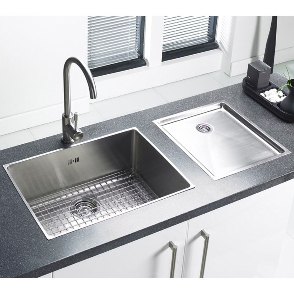 Astracast Onyx 4054 1 Bowl Flush Inset Sink With Chrome Waste Overflow Grid Brushed Stainless Steel From Tap Warehouse Receive Huge