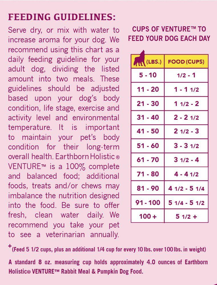 Earthborn holistic venture dog food rabbit meal 4lb bag