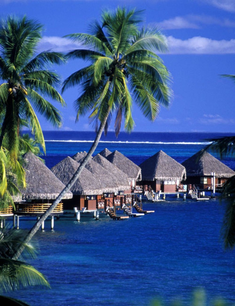 5 Most Affordable Overwater Bungalows Wedding Vacation Travel - Tahiti-a-exotic-residence