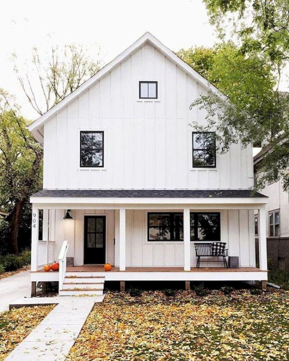 90 incredible modern farmhouse exterior design ideas (28 | Modern ...