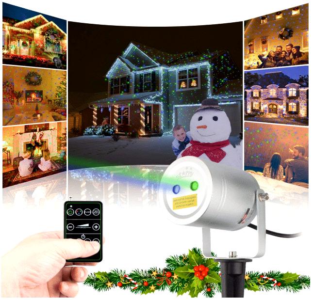 Top 10 Best Outdoor Christmas Laser Lights Projector Reviews Best Christmas Laser Lights Laser Christmas Lights Laser Lights Projector