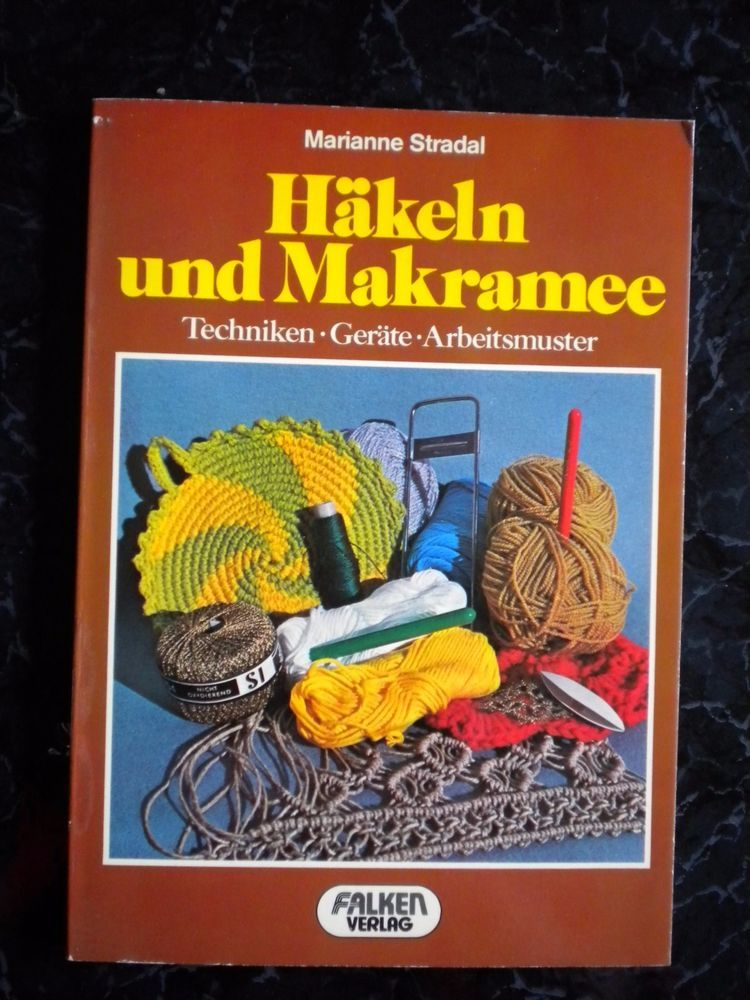 Vintage Anleitungen Makrameehäkeln Technikengeräte Muster