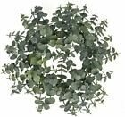 Photo of Floristry Warehouse Spiral Artificial Eucalyptus Wreath 12 Inches #Holiday