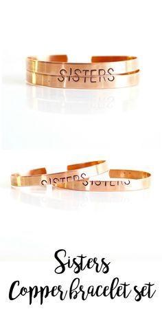 d193ee641d4ee PREORDER Sister set - sister bracelets for 2 - sister gift - sister ...