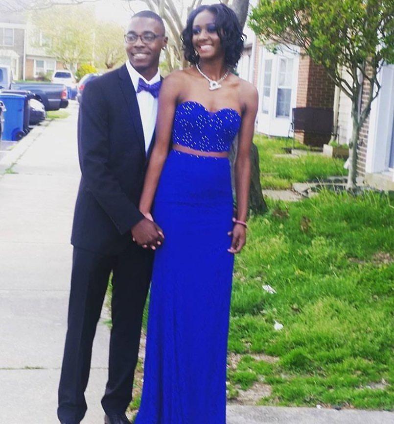 2016 Prom Dresses For Black Girls With Sweetheart Neck Beaded Royal ...