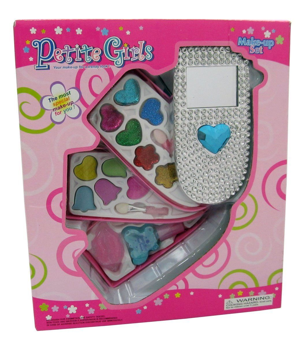 Petite Girls Cell Phone Shaped Cosmetics Play