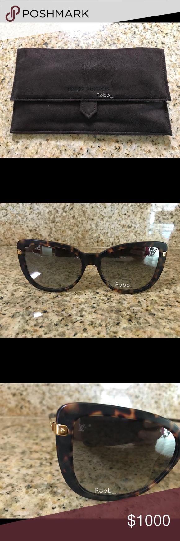 cfa8cf1a0134 Louis Vuitton Charlotte Sunglasses 100% authentic. Excellent condition