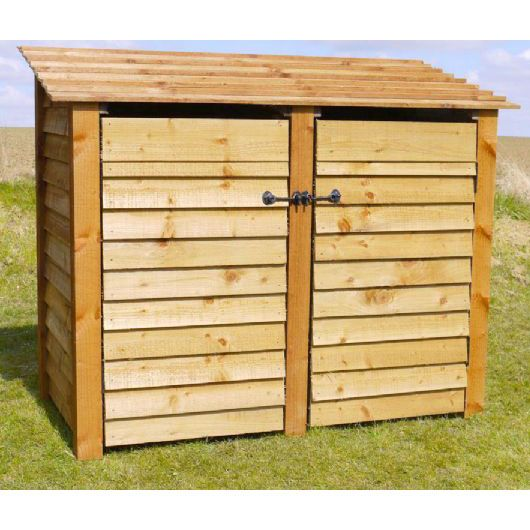 Rutland 4ft Double Log Store - Next Day Delivery Rutland ...