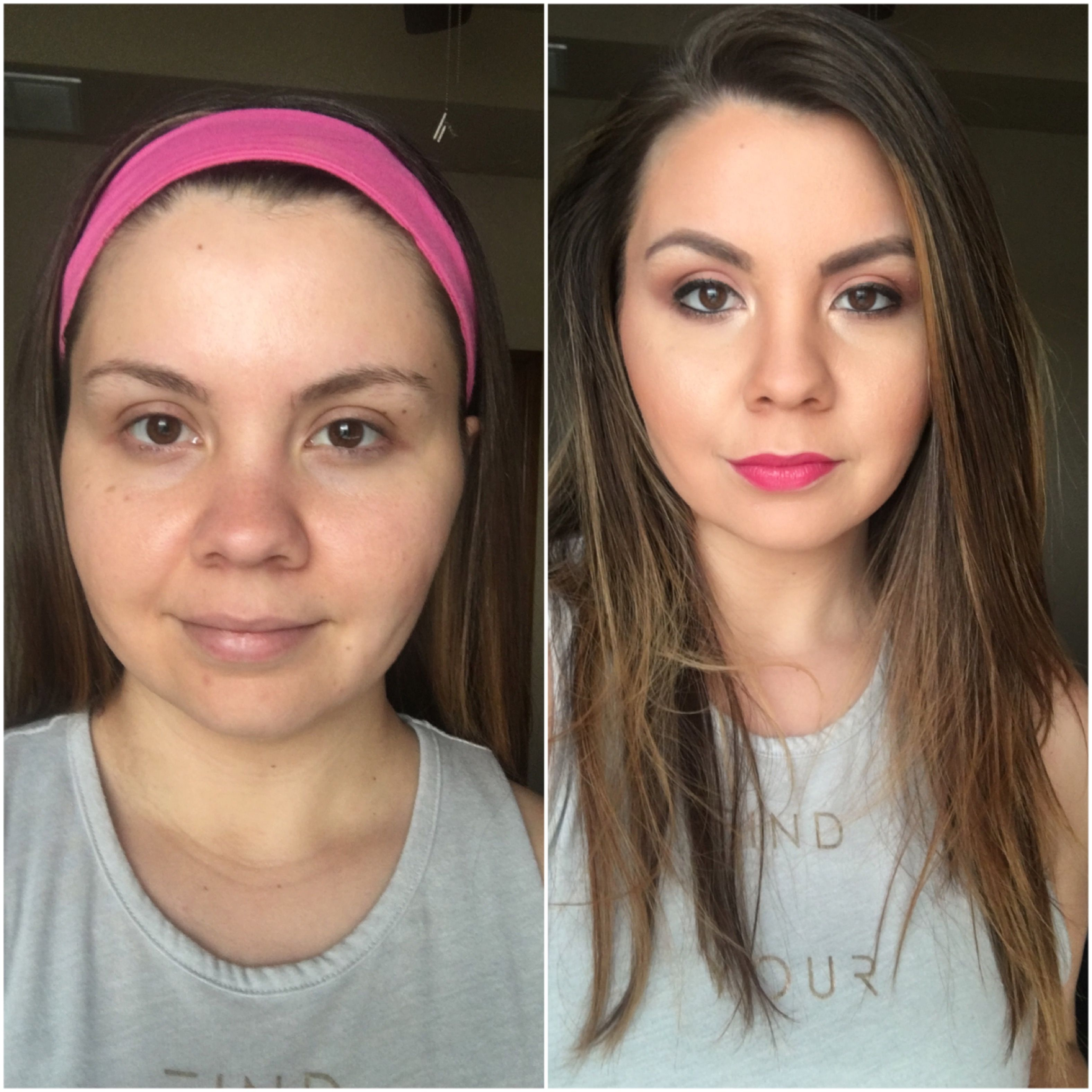 airbrush makeup before & after luminess air - luminess