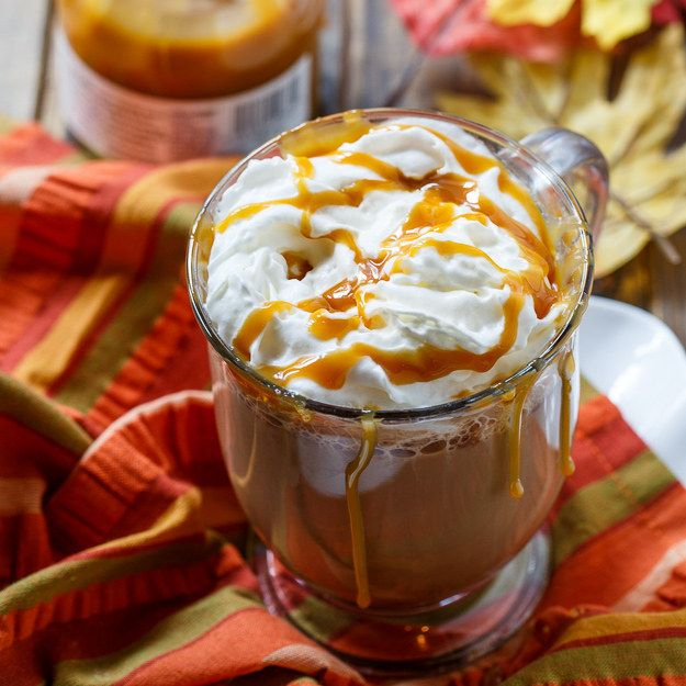 Coffee Recipes, Salted Caramel